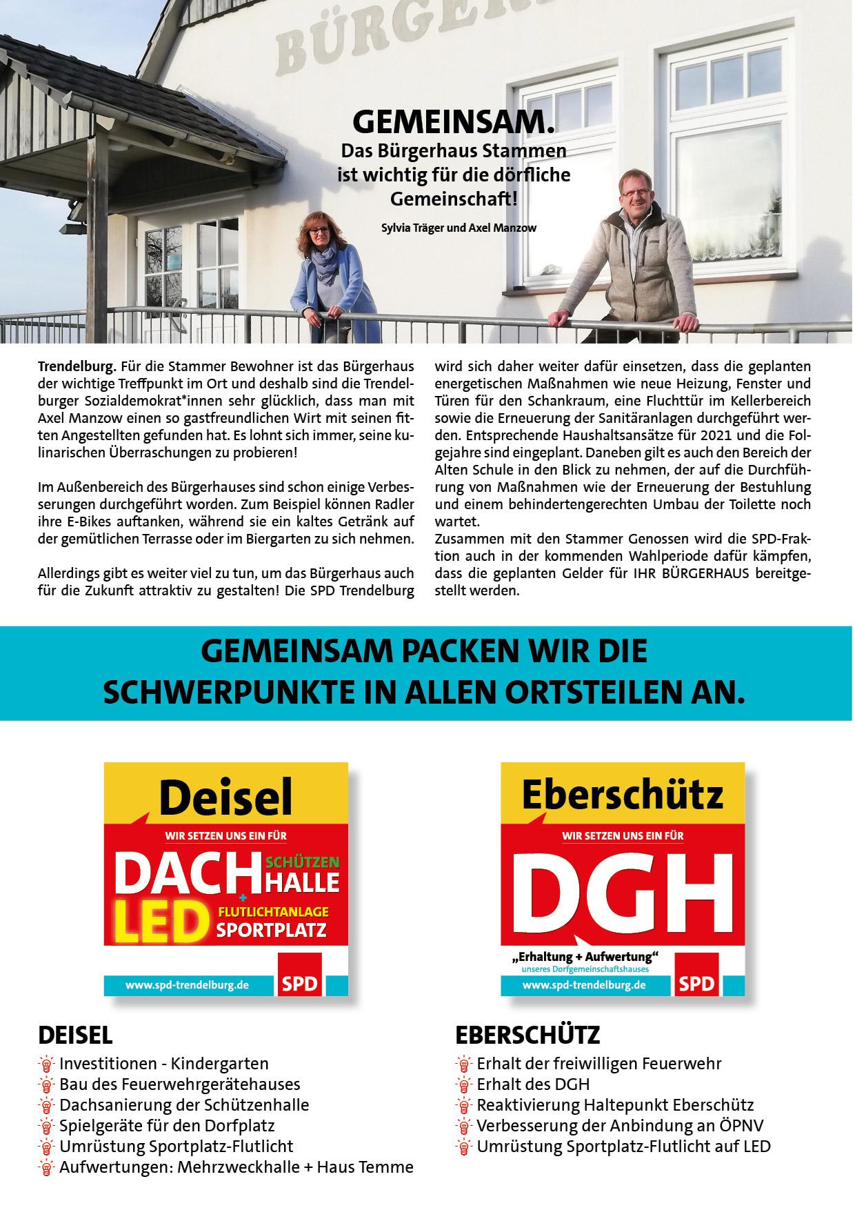 GEMEINSAM - Bürgerhaus Stammen
